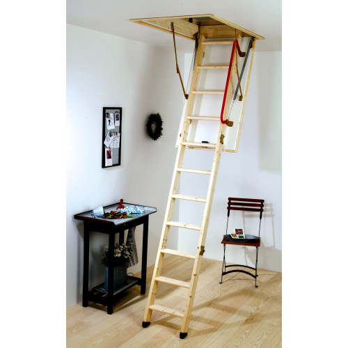 "Youngman ""ECO"" S-Line Wooden Loft Ladder"